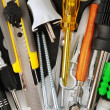 Foto Stock: Tools background