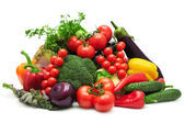 Collection vegetables — Stock Photo