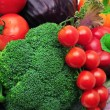 Vegetables background — Stock Photo