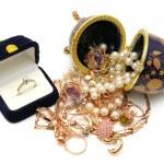 Gold ornaments — Stock Photo