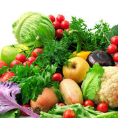 Frisches obst und gemüse — Stockfoto