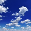 White fluffy clouds — Stock Photo #8331898