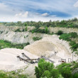 Limestone quarry — Stock Photo