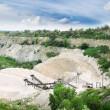 Limestone quarry — Stock Photo #9466437