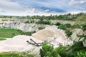 石灰石矿 — 图库照片