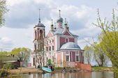 The Orthodox Church in Pereslavl — Stock Photo