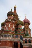 Moscou. catedral de são basílio, — Foto Stock