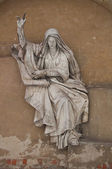 Bas-relief of the Holy Bible — Stock Photo