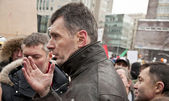 Candidate for President of Russia, Mikhail Prokhorov — Stock Photo
