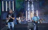 Rus rock grubunun konseri — Stok fotoğraf
