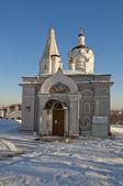 Old Russian Church in Kolomenskoye — Stock Photo