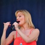 Russian pop star Tanya Bulanova — Stock Photo #9412625