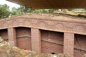 Kościół w lalibela, etiopia — Zdjęcie stockowe