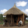 Stock Photo: Village in Ethiopia