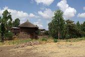 Wieś w etiopii — Zdjęcie stockowe
