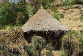 African hut, Ethiopia — Photo