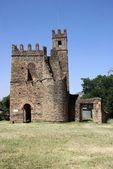 Castillo en etiopía — Foto de Stock