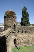 Castelo na etiópia — Foto Stock