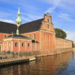 Copenhagen city canal architecture denmark — Stock Photo
