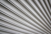 Metal security shutters background — Stock Photo