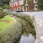 Cotswalds country house hotel bibury uk — Stock Photo