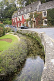 Cotswalds country house hotel bibury uk — Stock Photo
