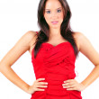Lady in Red — Stock Photo #9104266