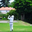 Stock Photo: MPlaying Golf