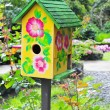 Bird House - Stock Photo