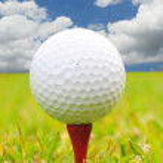 Golf Ball and Sky — Stock Photo #9118906