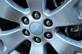 Auto Wheel — Stock Photo