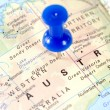 AustraliMap — Stock Photo #9927816