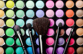 Multi colored make-up — Stock Photo