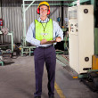 Occupational safety inspector — Stock Photo