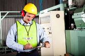Ufficiale di salute e sicurezza sul lavoro — Foto Stock
