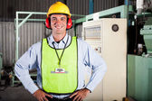 Industrial health and safety officer — Stock Photo