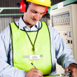 Stock Photo: Industrial technician