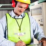 Industrial technician — Stock Photo #10229594