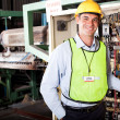 Industrial technician — Stock Photo