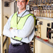 Royalty-Free Stock Photo: Industrial electrician
