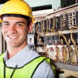 Industrial technician — Stockfoto