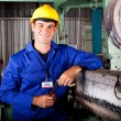 Industrial mechanical technician — Stockfoto