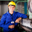 Industrial mechanical technician — Stock Photo