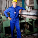 Heavy industry mechanic — Stock Photo