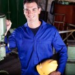 Industrial craftsman — Stock Photo