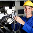 Modern machine operator — Stock Photo #10229713