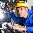 Modern machine operator — Stock Photo #10229722