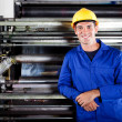 Stock Photo: Printing press operator