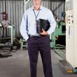 Factory technical manager — Stock Photo