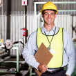 Industrial worker — Stock Photo #10229885